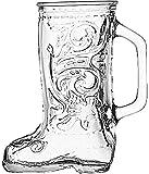 Anchor Hocking Glass Beer Boot 12.5 Ounce Mug, Set of 4