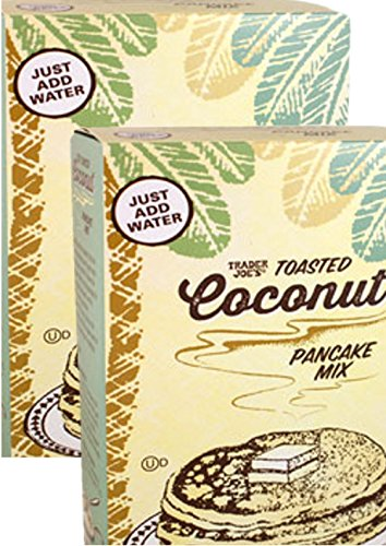 Trader Joes Toasted Coconut Pancake