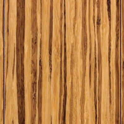 """3-3/4"""" HDF Click Lock Engineered Woven Bamboo in Tiger Stripe"""