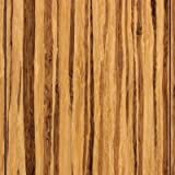 3-3/4'' HDF Click Lock Engineered Woven Bamboo in Tiger Stripe