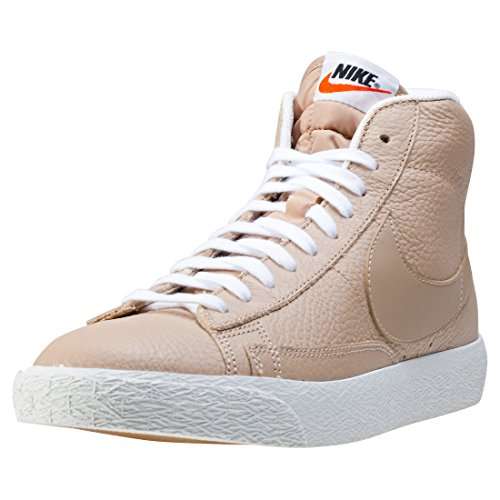 the latest 2c30f ce3ee NIKE BLAZER MID PREMIUM LINEN SUMMIT WHITE LEATHER CASUAL FASHION 429988  202 delicate