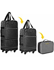 Biaggi Luggage Zipsak Boost! Expandable Carry On - 22 Expands to 28