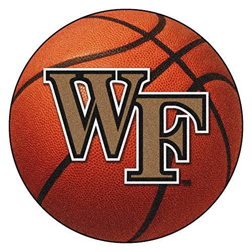 - FANMATS NCAA Wake Forest University Demon Deacons Nylon Face Basketball Rug