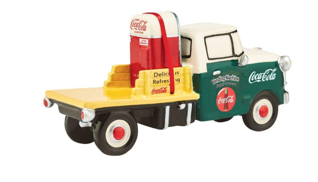 Department 56 Snow Village ''Coca Cola Service Truck'' Ceramic Accessory #4044876