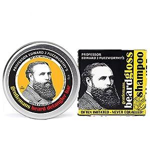 Professor Fuzzworthy's Beard SHAMPOO BAR & CONDITIONER KIT | 100% Natural | Chemical Free | Organic Essential Plant Oils | Travel Friendly Beard Kit Handmade in Tasmania Australia