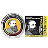 Perfect gift for fathers, husbands, boyfriends, and our bearded friends! A full sized 100% natural shampoo bar rich in conditioning olive & castor oil, Leatherwood beeswax and honey gently and thoroughly cleanses your hirsute pride and jo...
