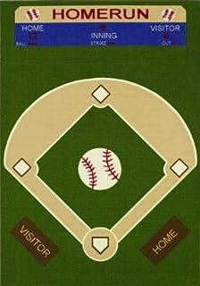 All Stars Baseball Ground Kids Rug Size 33