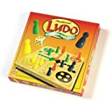 Traditional Ludo with Wooden Board & Pieces