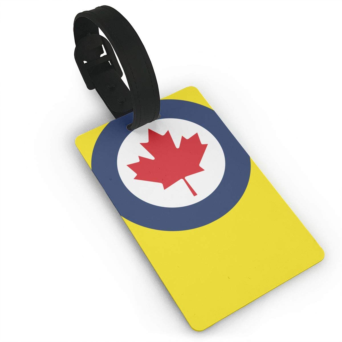 KODW12 Roundel of Canada Luggage Tag Travel Bag Labels Suitcase Bag Tag Name Address Cards