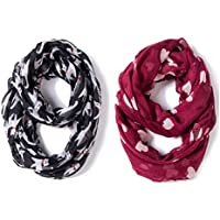 Kids Infinity Scarf Lightweight Animal Shawl Wrap Baby Scarves for Toddler Girls Boys by A Sund