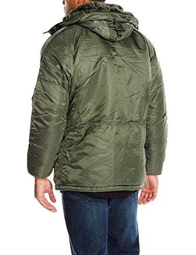 Gray Sage Men's 3B Industries Alpha Coat Parka N vwYqRp0