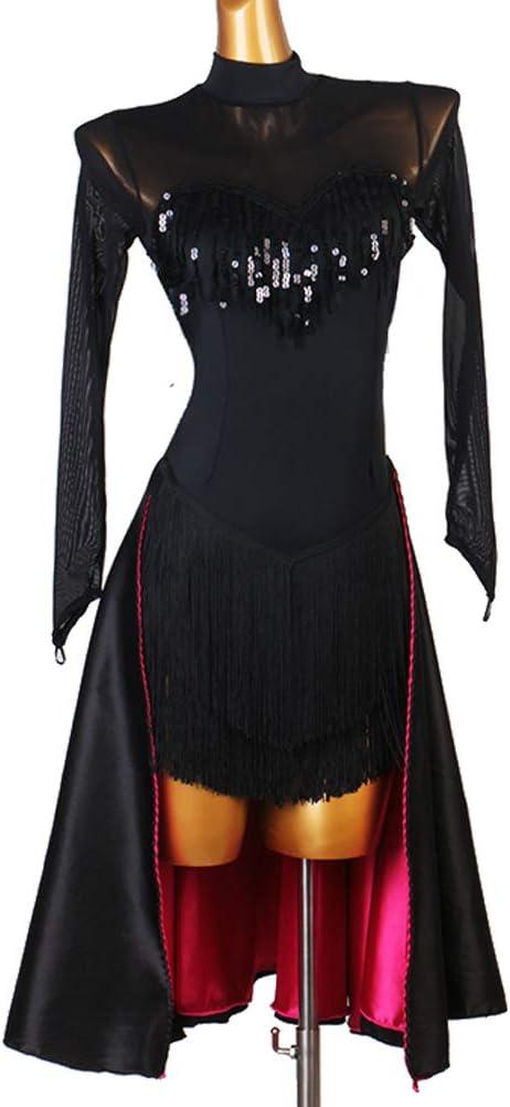 Vestido De Baile Latino Costura De Moda De Personalidad ...