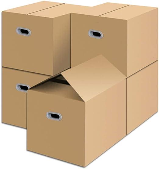 DiaoZhaTian Espesar la Caja de Almacenamiento de cartón Grande, la ...