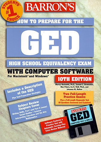 Barron's How to Prepare for the Ged: High School Equivalency Exam (Barron's How to Prepare for the GED (W/CD))
