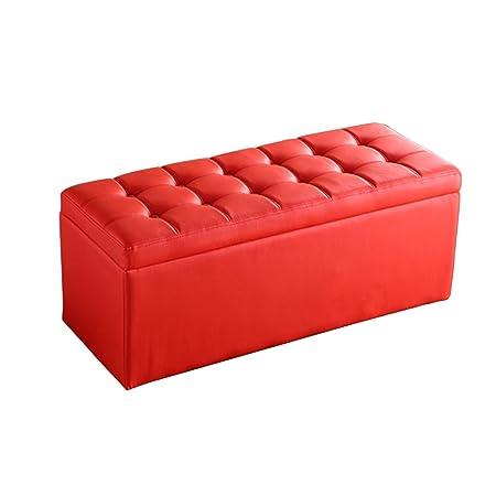 Dorable Otomanas Cuadrados Con Muebles De Almacenamiento Foto ...