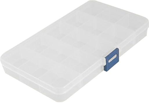 Caja Claro Transparente Organizador con 15 Compartimentos ...