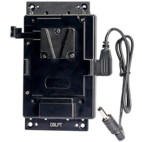 Ikan BMPCC-PBK-BC-S Blackmagic Pocket Cinema Camera Belt Clip Pro Battery Kit for V-Mount (Black) by Ikan