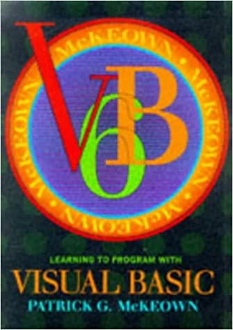 Learning to Program with Visual Basic: Student Edition