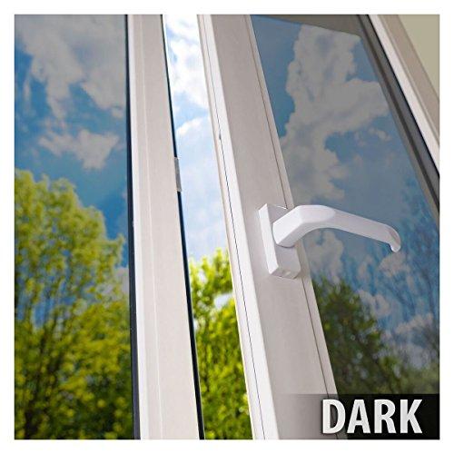 One Way Dark Window Tint Home Privacy Glass Door Reflective Mirror