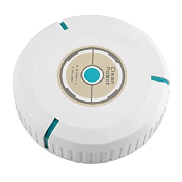 Zerodis Robot Aspirador, Robot Inteligente Automático Aspirador Limpiador de Piso Barrido Succión Máquina de Barrido Robot (White): Amazon.es: Hogar