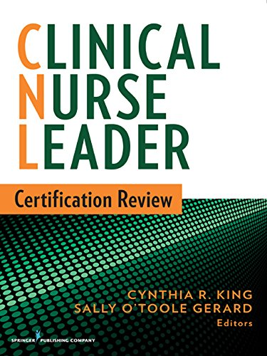 Cnl the best amazon price in savemoney clinical nurse leader certification review malvernweather Choice Image