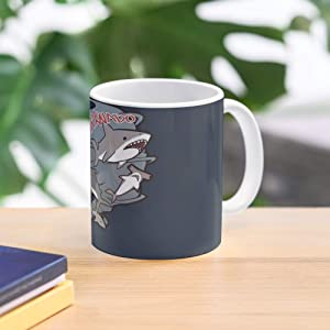 Cute Syfy Shark Funny Sharknado Scifi Sharks Best 11 Ounce Ceramic Coffee Mug Gift