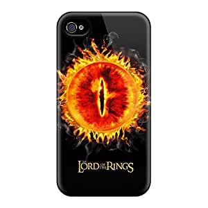 Bumper Hard Phone Case For Apple Iphone 4/4s With Provide Private Custom Trendy Lord Of The Rings Pattern Casesbest88