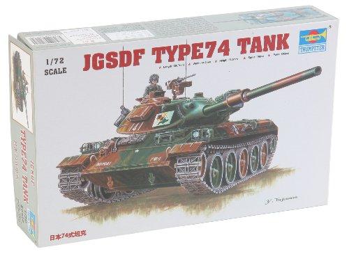 Trumpeter 07218 Modellbausatz Japanischer Panzer Typ 74