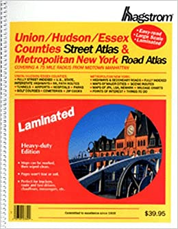 |TOP| Hagstrom Union/Hudson/Essex Counties & Metro New York: Covering A 75 Mile Radius From Midtown Manhattan. August students Utility power Enter DERECHOS Hurley tambien