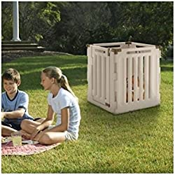 Convertible Indoor/Outdoor Pet Playpen Panels: 4