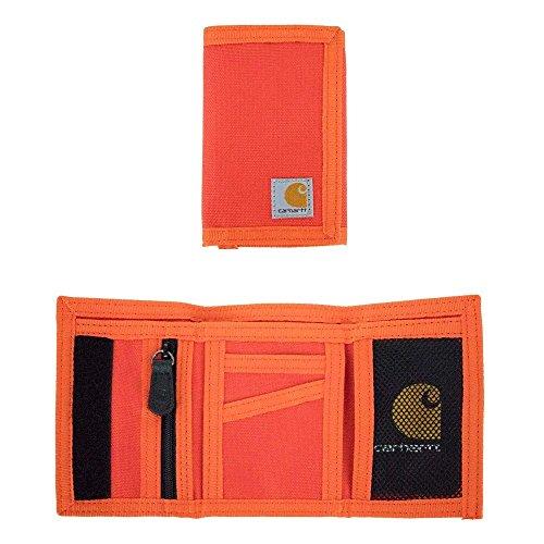Carhartt Men's Extremes Trifold Wallet, blaze orange, One Size ()
