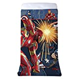 Marvel Captain America Civil War All-In-One Blanket & Sheet Reversible 60'' X 80'' Comfy Cover
