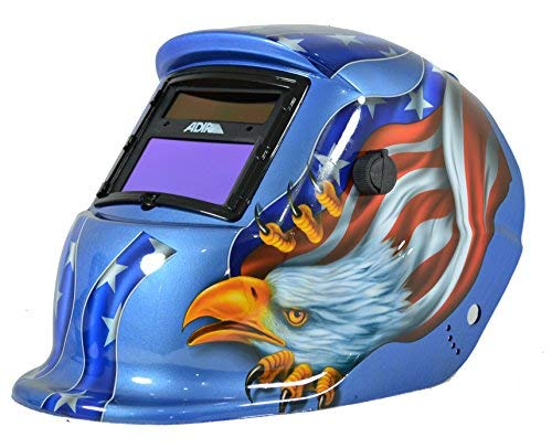 Adir 6710 Careta Electronica para Soldar Freedom Eagle