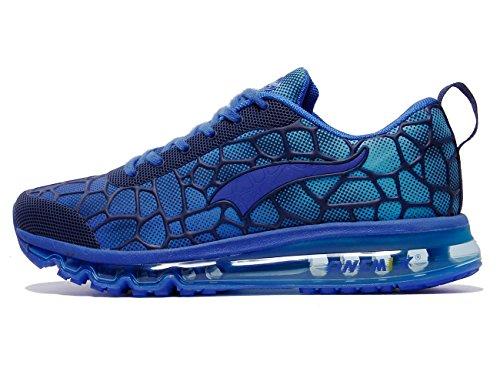 sale Manchester ONEMIX Men's Lightweight Air Cushion Sport Running Shoes Royal Blue top quality online CwliK