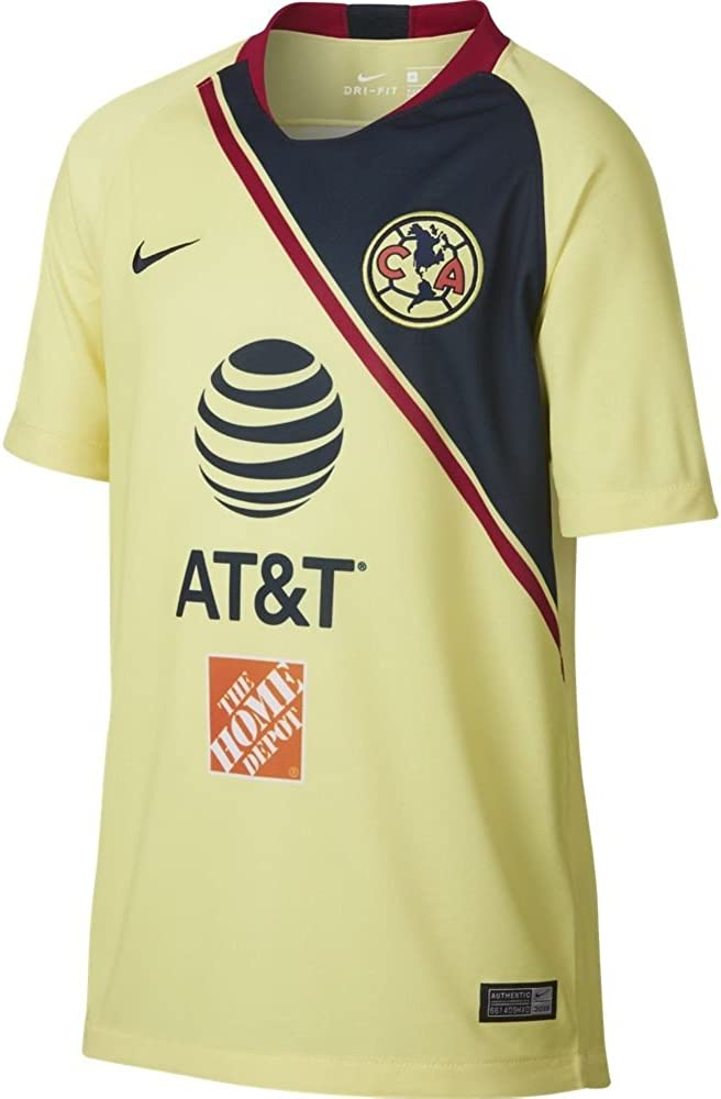 Nike Club America Youth Soccer Jersey 2018/19