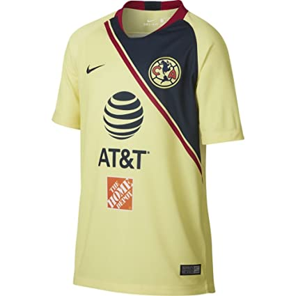 cheap for discount 127b7 dccbc Amazon.com : NIKE Club America Youth Soccer Jersey 2018/19 ...