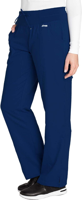 Grey's Anatomy 4-Pocket Yoga Knit Pant for Women– Modern Fit Medical Scrub Pant