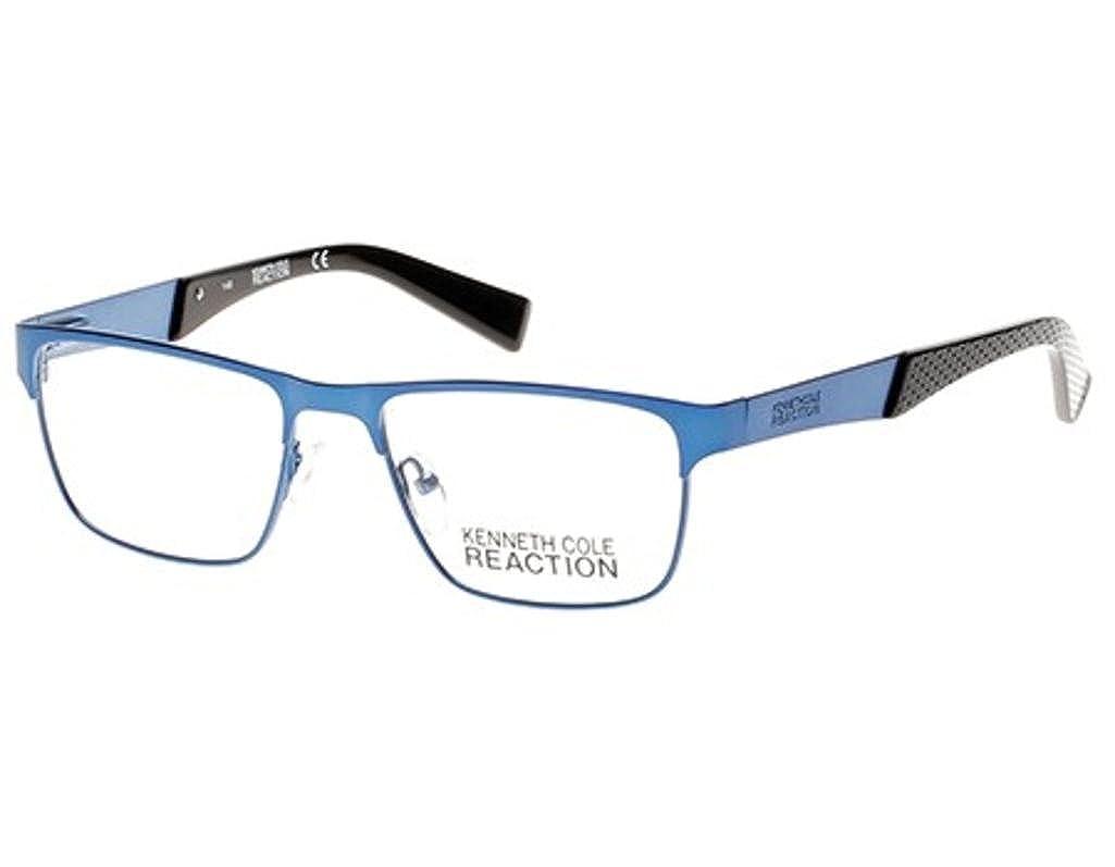 Eyeglasses Kenneth Cole Reaction KC 770 KC0770 091 matte blue