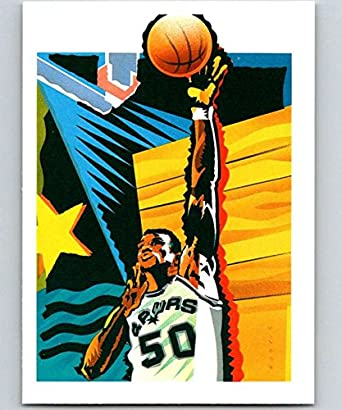 Amazoncom 1990 91 Hoops 378 David Robinson Spurs Tc Nba
