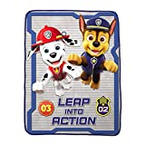 Nickelodeon Paw Patrol Super Soft Kids Bedding Set, 6 Piece Full Size, Includes Grey Leap Into Action Throw