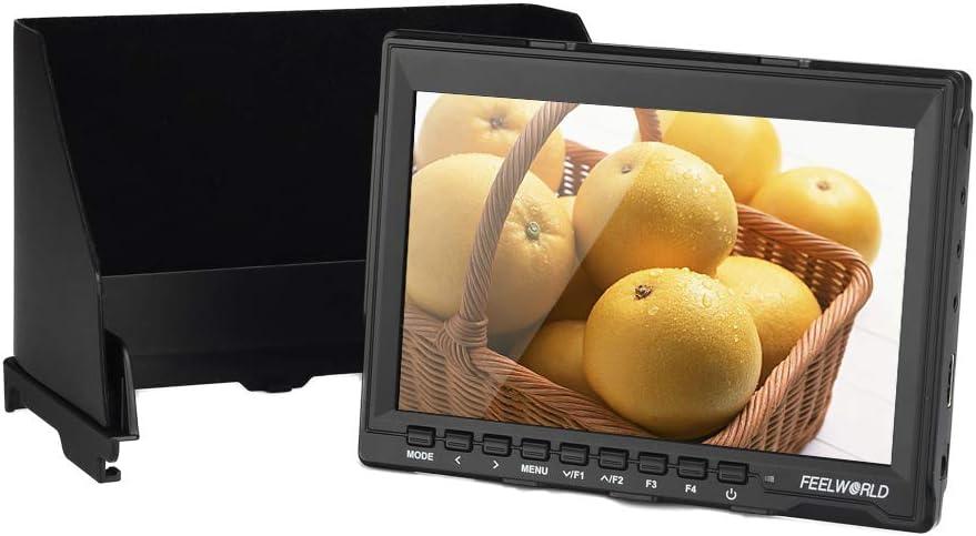1280x800, Peaking Focus, HDMI, Zoom-in + Image Flip Generic 7 Inch On Camera DSLR Monitor