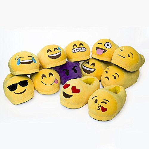 Oksakady Mignon Utilisation Chaud Hommes Intérieure Dessin Flâneurs Chaussons Sese Et Extérieure Peluche Expression Emoji Animé Femmes Pour rrwXqO
