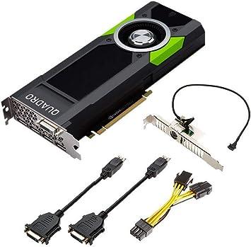 Amazon.com: PNY Quadro P5000 vcqp5000-pb 16 GB 256-bit GDDR5 ...