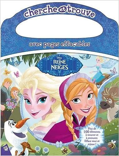Amazon Fr Cherche Et Trouve La Reine Des Neiges Avec