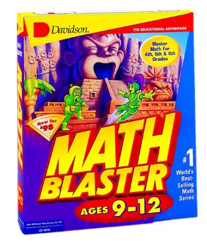 Math Blaster Ages 9-12 - Win / Mac