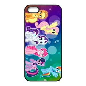 Customize Cartoon My Little Pony Back Cover Case for iphone 5,5S JN5S-1688 by ruishername