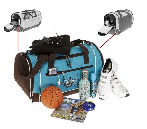 SPEAR Sporttasche ADVENTURE XL 52 cm Reisetasche Sport Tasche TÜRKIS