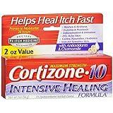 Cortizone-10 Creme Intensive Healing Formula - 2 oz, Pack of 5