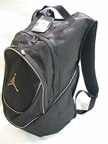 Nike Air Jordan Jumpman Black Book-Bag BackPack 9A1118-804 Size O/S