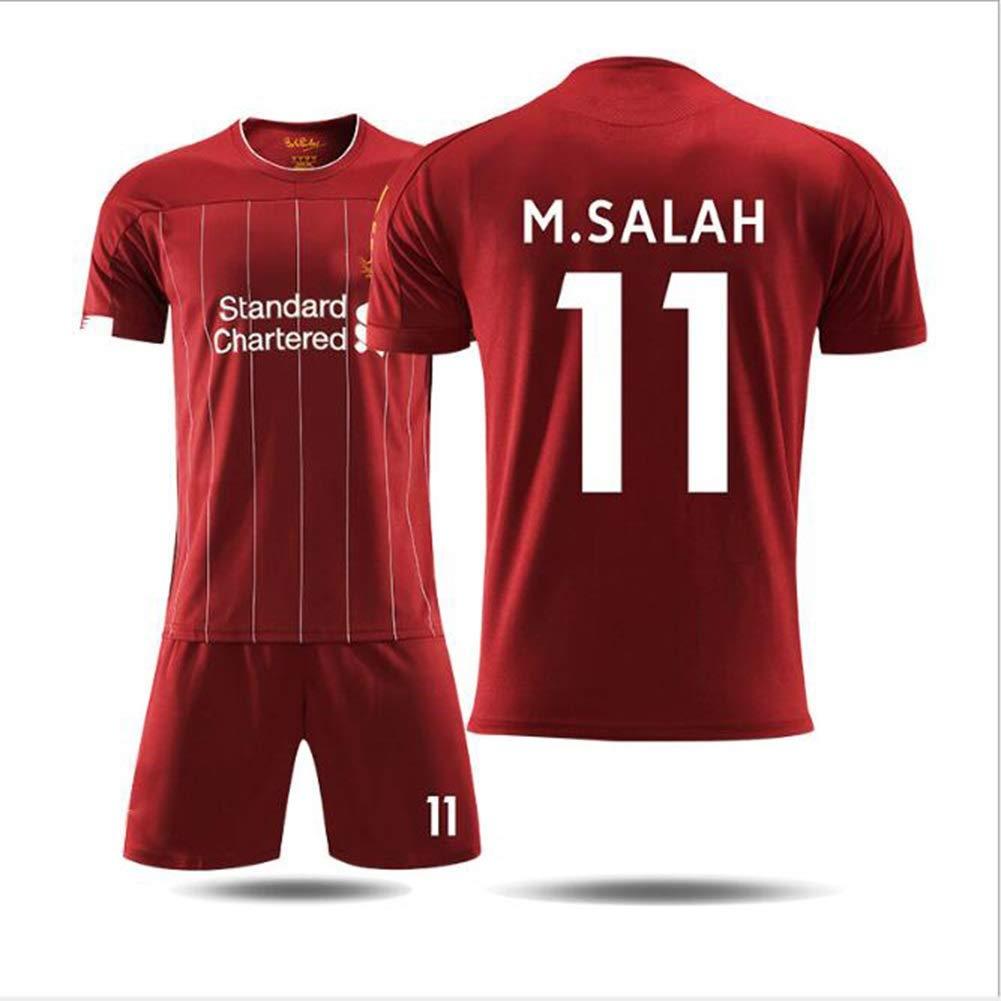 Color : No.10, Size : 16 Set di Magliette e Pantaloncini da Calcio ...